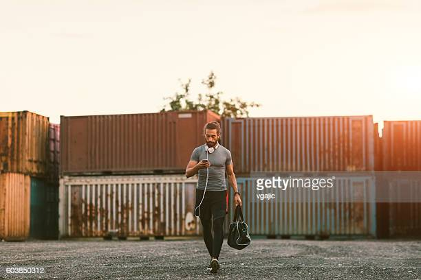 runner - gym bag stock pictures, royalty-free photos & images