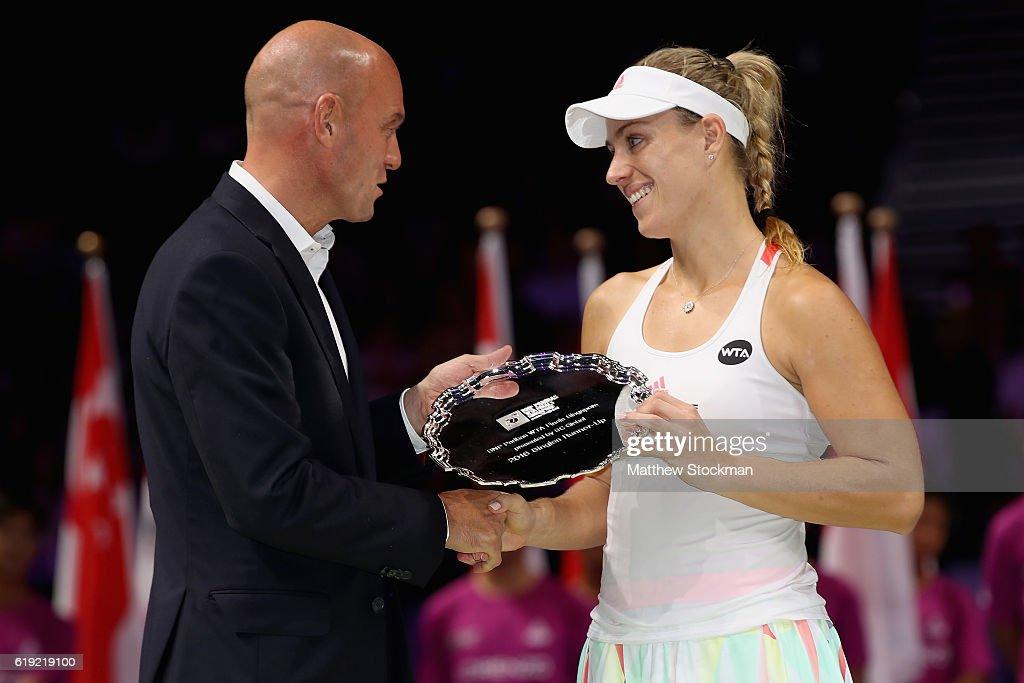 BNP Paribas WTA Finals: Singapore 2016 - Day Eight : News Photo