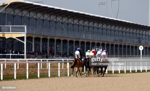 Horse invitation stock photos and pictures getty images horse racing invitation only day great leighs racecourse stopboris Choice Image