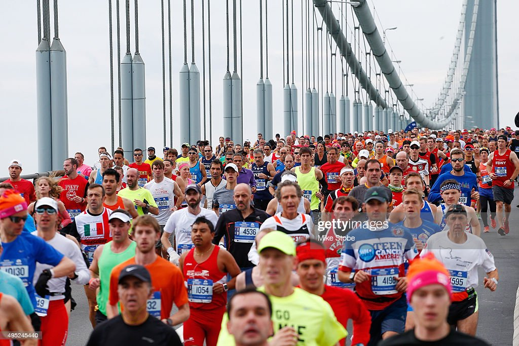 TCS New York City Marathon : News Photo