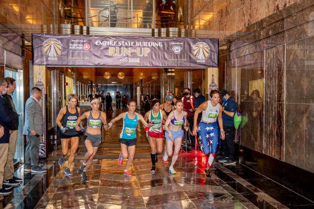 NY: 43rd Annual Empire State Building Run-Up