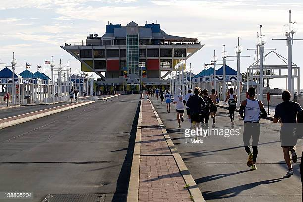 Runners on the course of the Rock n Roll Half Marathon on February 12 2012 in St Petersburg Florida