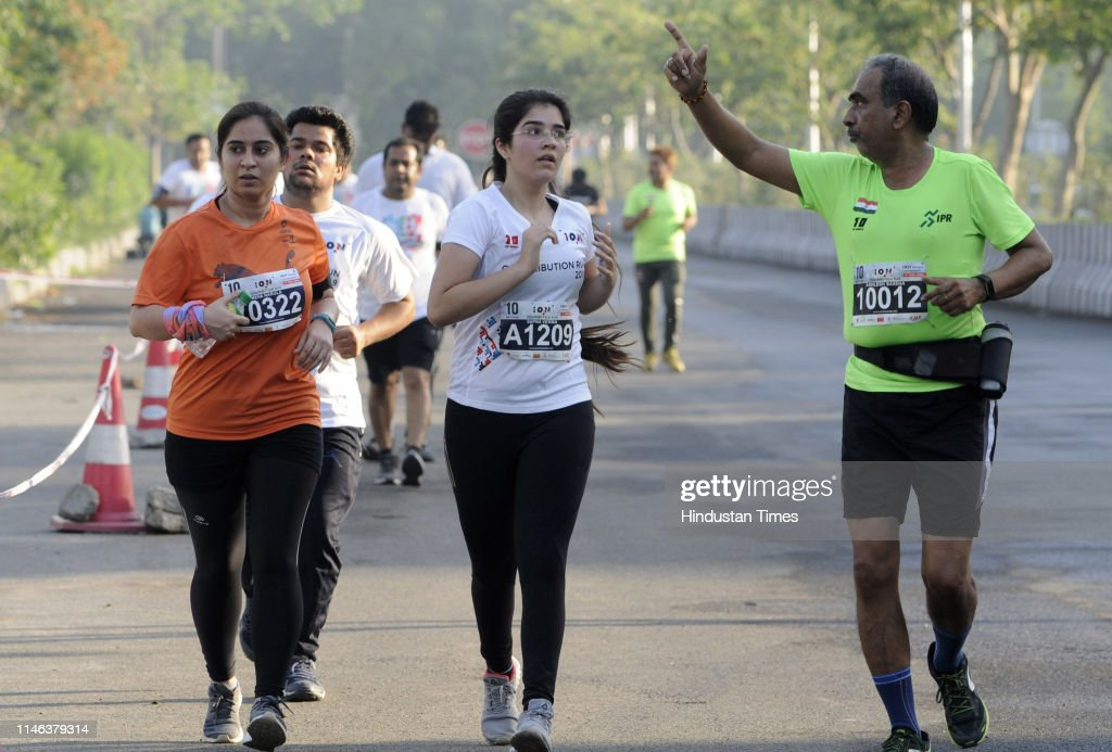 IND: ION Group Organises Contribution Run In Noida