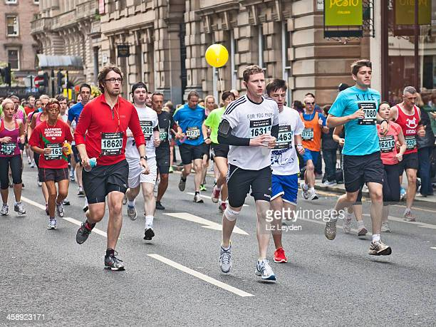 Runners participating in Great Scottish Run 2012