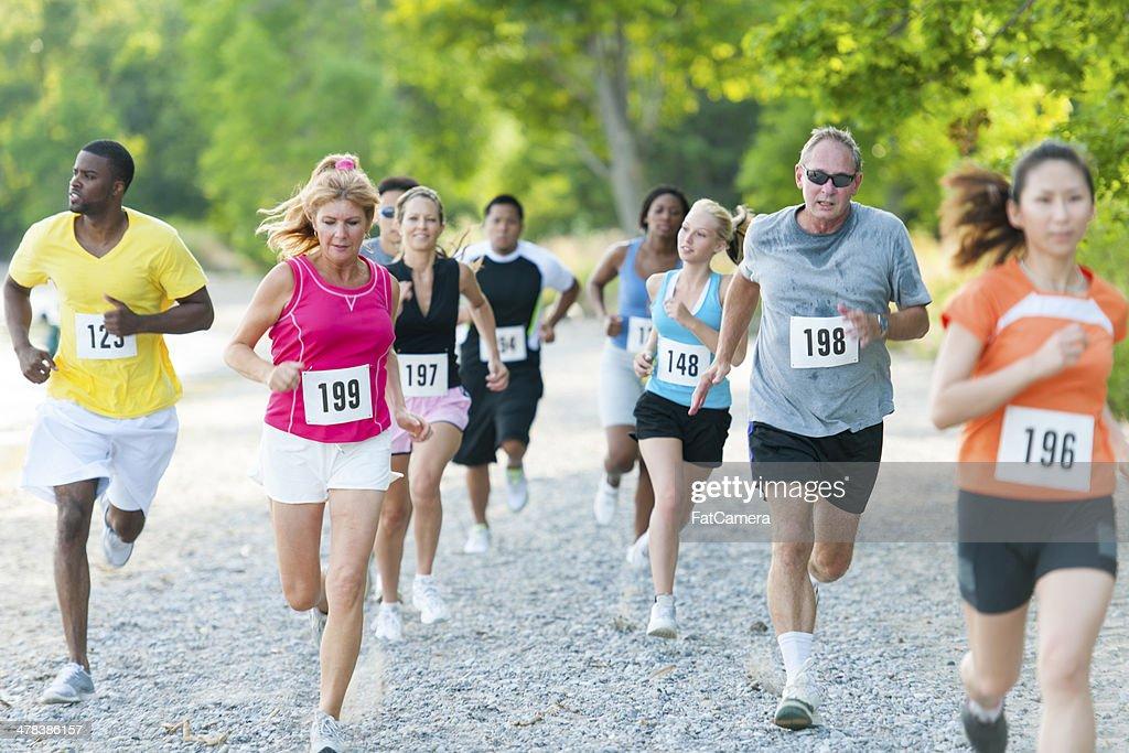 Runners : Stock Photo