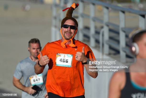 Runners take part in the 15th annual Long Beach Turkey Trot on Thursday November 23 2017 Justin Rudd and his Community Action Team put on the annual...