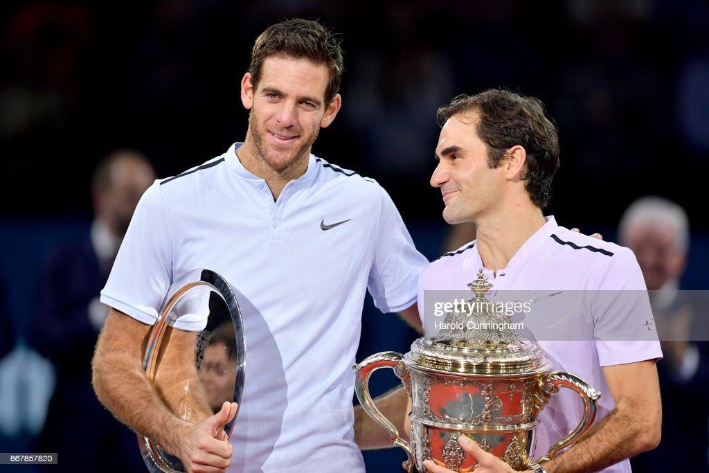 ATP World Tour Swiss Indoors Basel : Foto di attualità