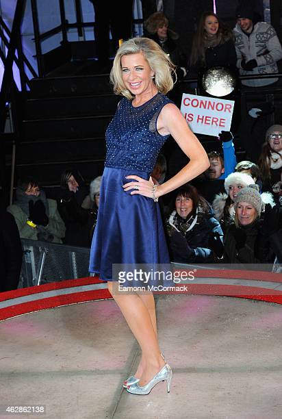 Runnerup Katie Hopkins is evicted from the Big Brother house during the 2015 Celebrity Big Brother Final at Elstree Studios on February 6 2015 in...