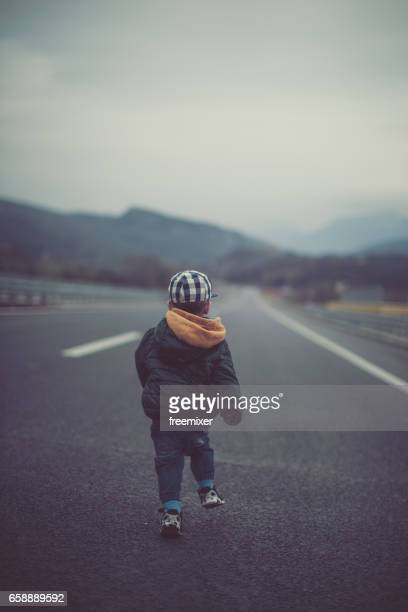 running away - runaway stock pictures, royalty-free photos & images