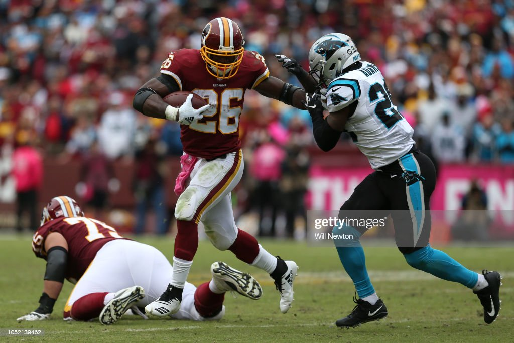 Carolina Panthers v Washington Redskins : News Photo