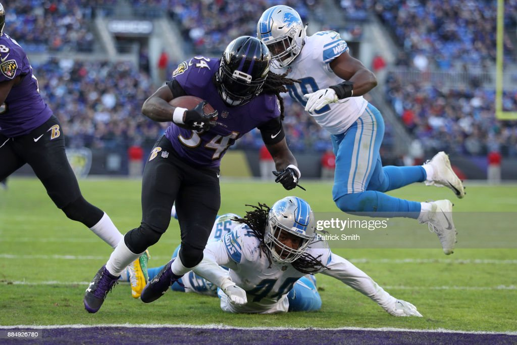 Detroit Lions v Baltimore Ravens : News Photo