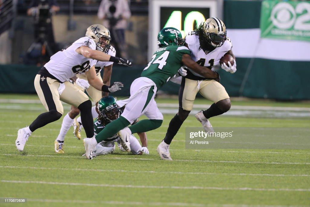 New Orleans Saints v New York Jets : News Photo