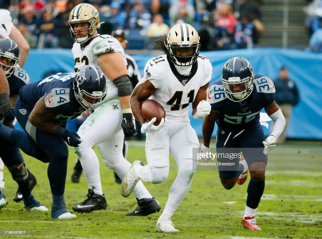 New Orleans Saints vTennessee Titans : News Photo