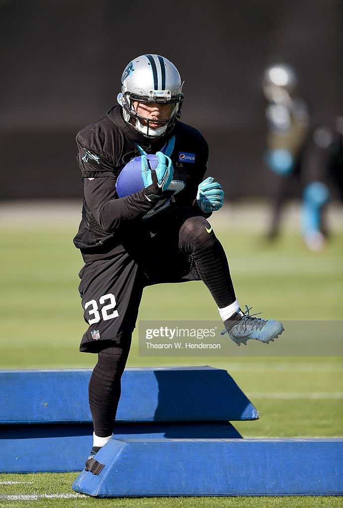 Carolina Panthers Practice : News Photo