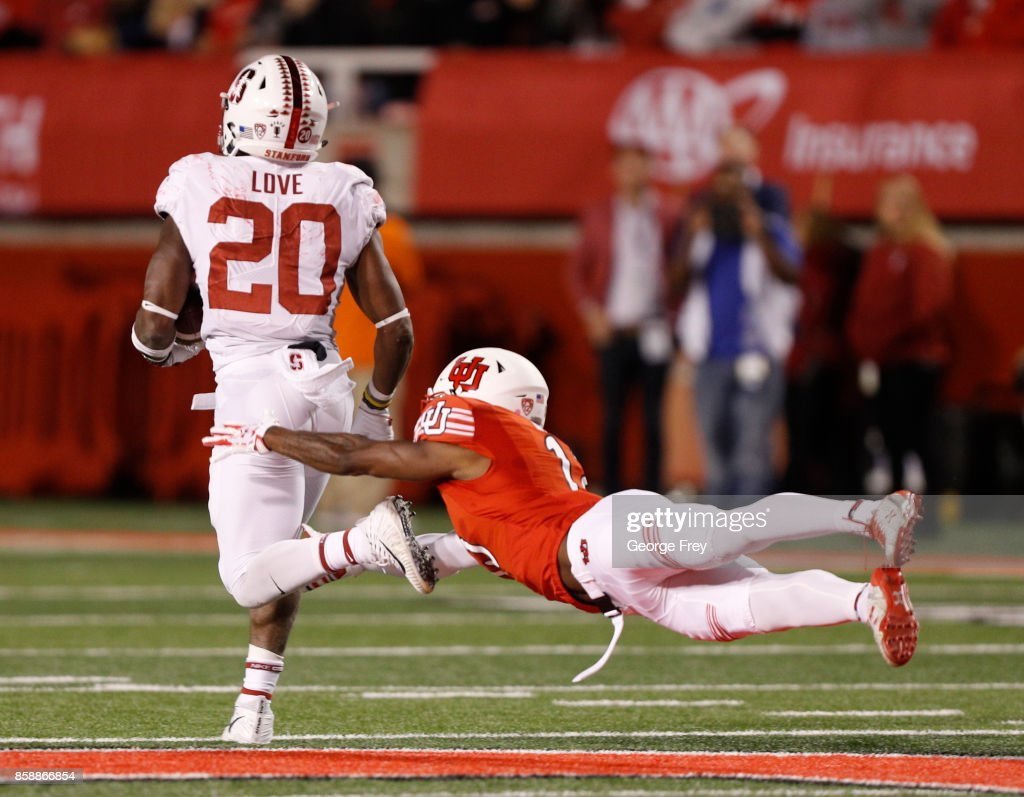 Stanford v Utah : News Photo