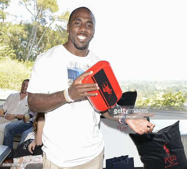 Running Back CJ Spiller at 2016 ESPYs Talent Resources Sports Luxury Lounge on July 12 2016 in Los Angeles California