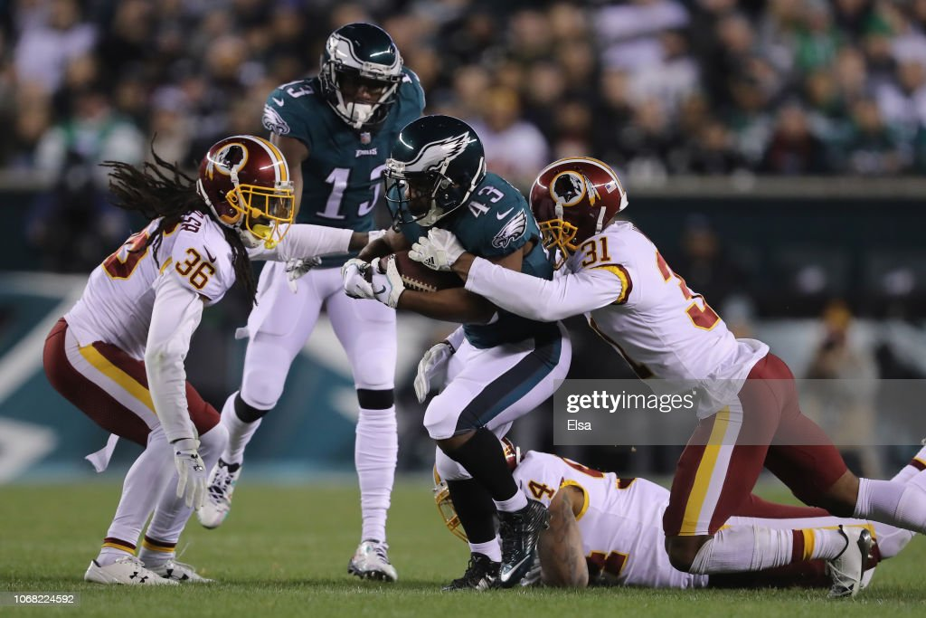 Washington Redskins v Philadelphia Eagles : Photo d'actualité