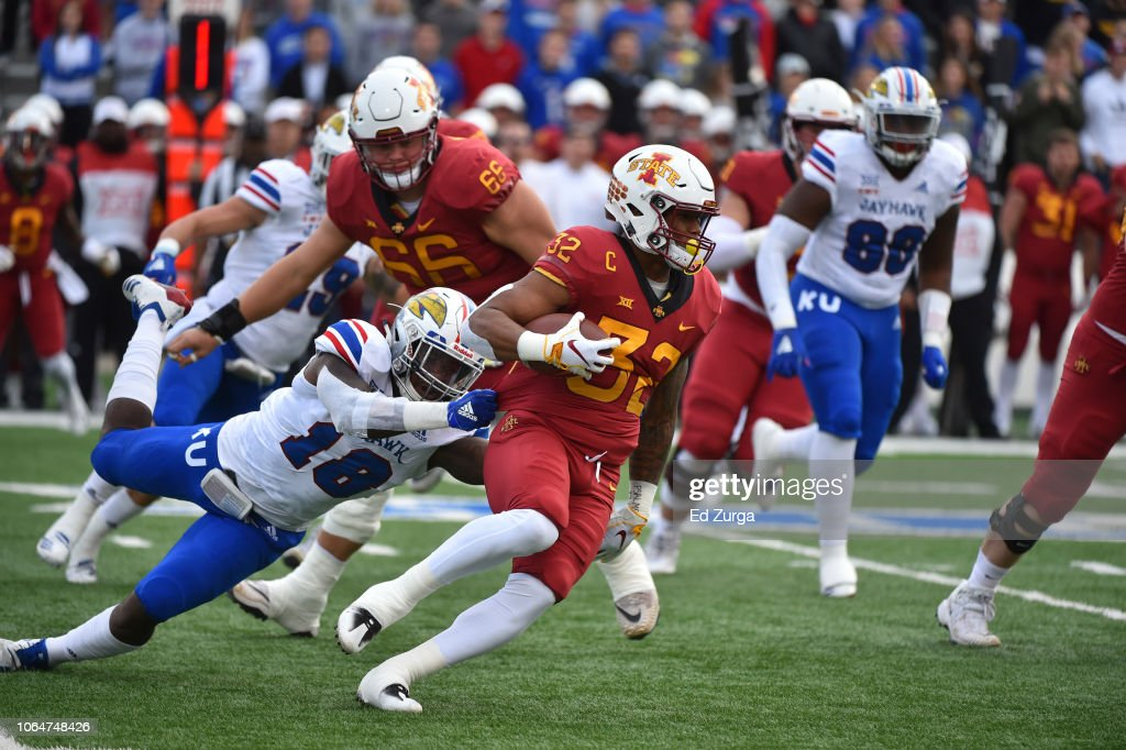 Iowa State v Kansas : News Photo
