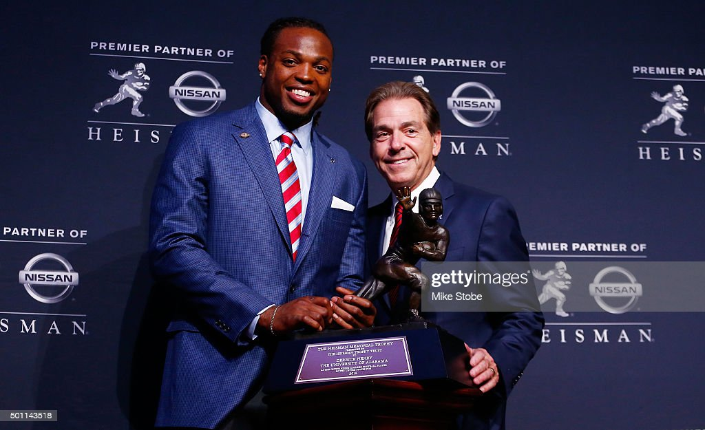 2015 Heisman Trophy Presentation : News Photo