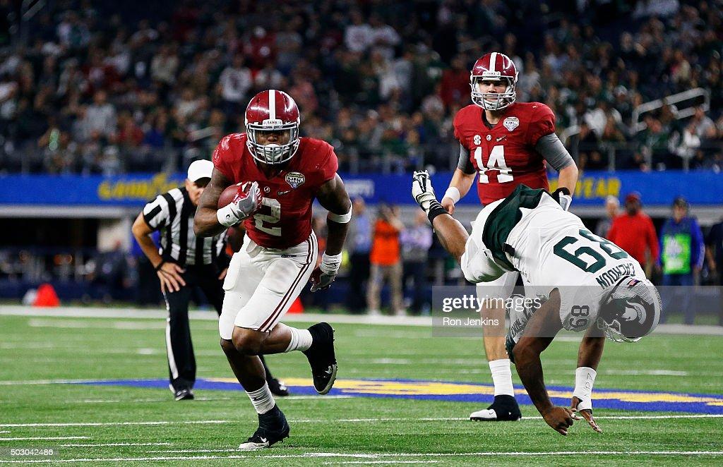 Goodyear Cotton Bowl - Alabama v Michigan State : News Photo