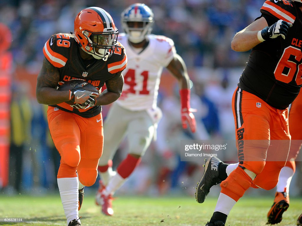 New York Giants v Cleveland Browns : News Photo