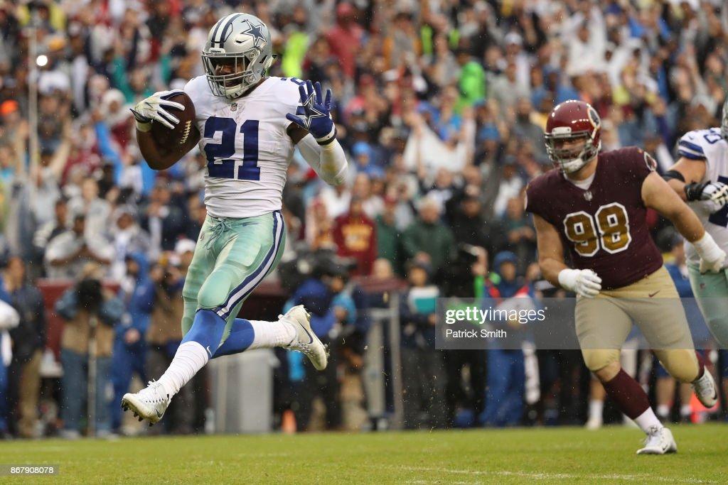 Dallas Cowboys v Washington Redskins : News Photo