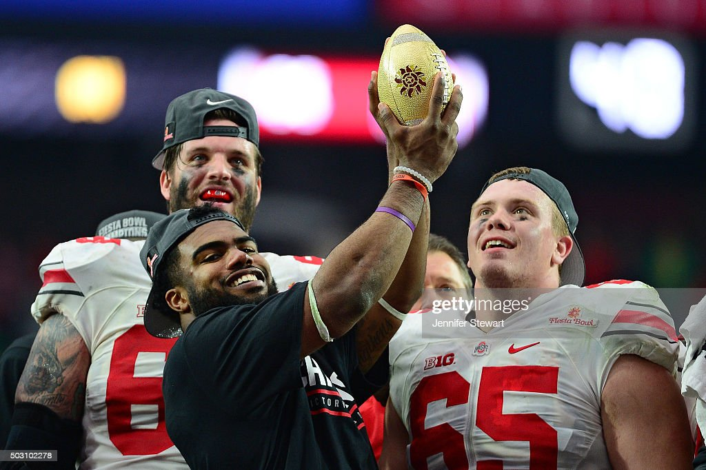 BattleFrog Fiesta Bowl - Ohio State v Notre Dame : News Photo