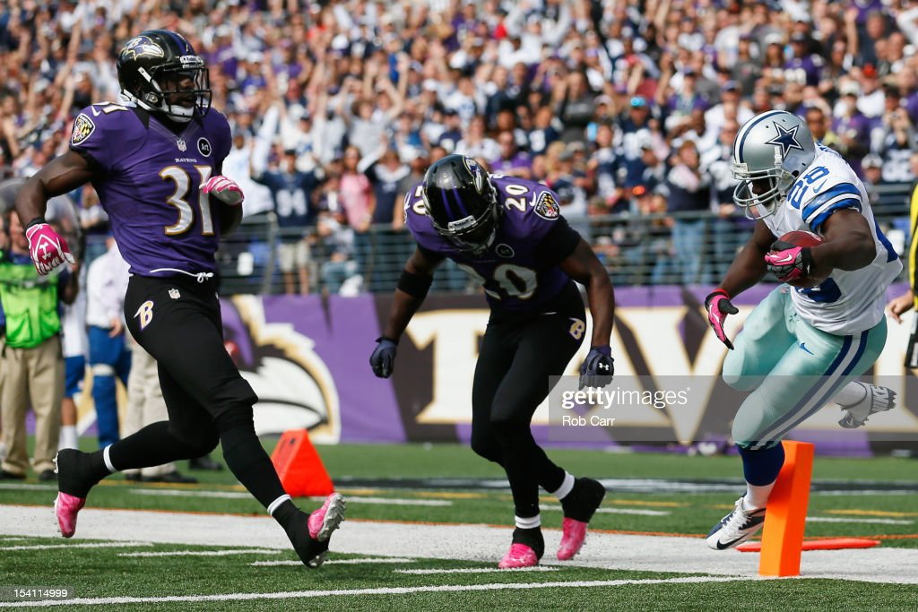 Dallas Cowboys v Baltimore Ravens