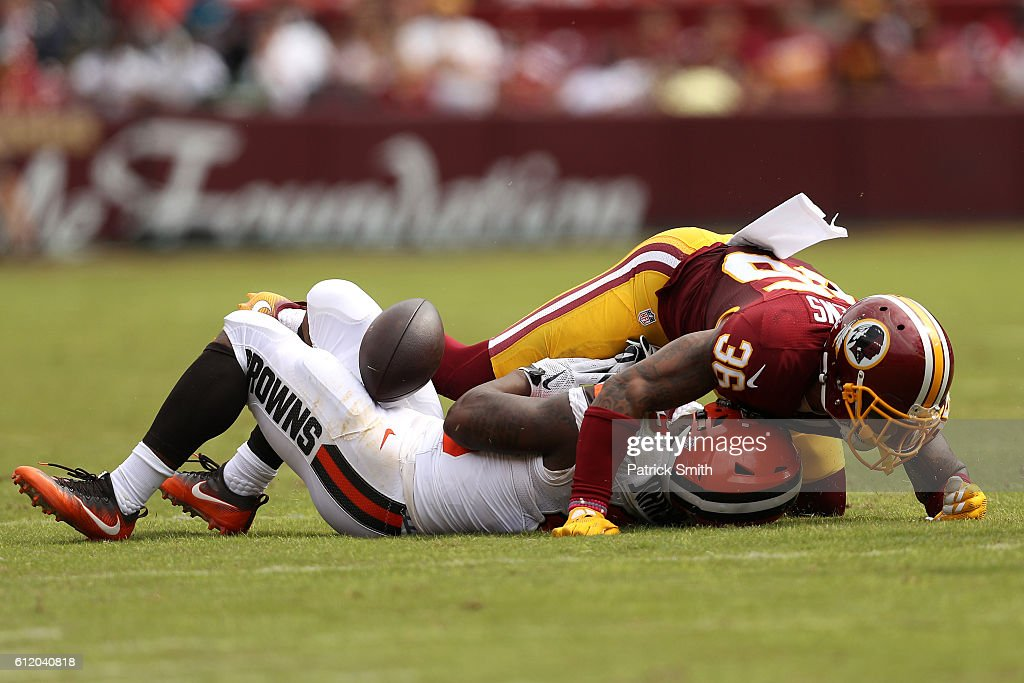 Cleveland Browns v Washington Redskins