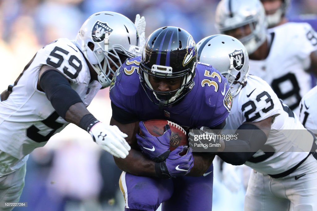 Oakland Raiders v Baltimore Ravens : News Photo