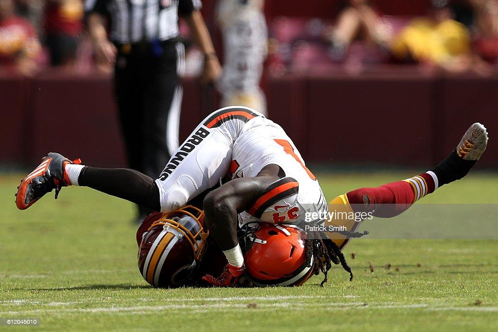 Cleveland Browns v Washington Redskins : News Photo