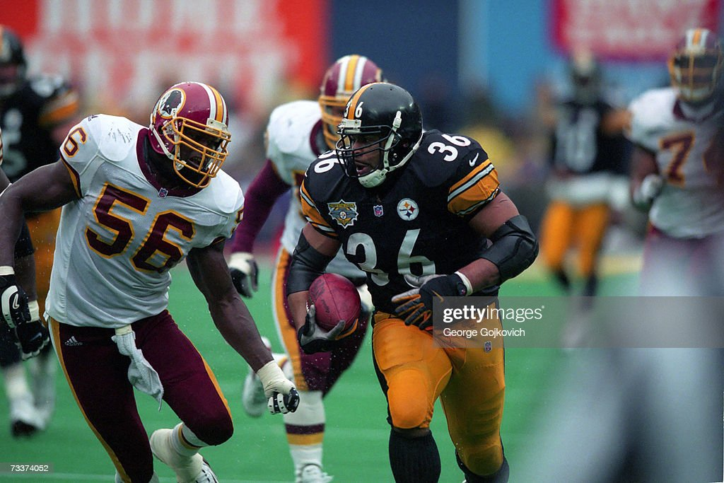 Steelers Jerome Bettis : News Photo
