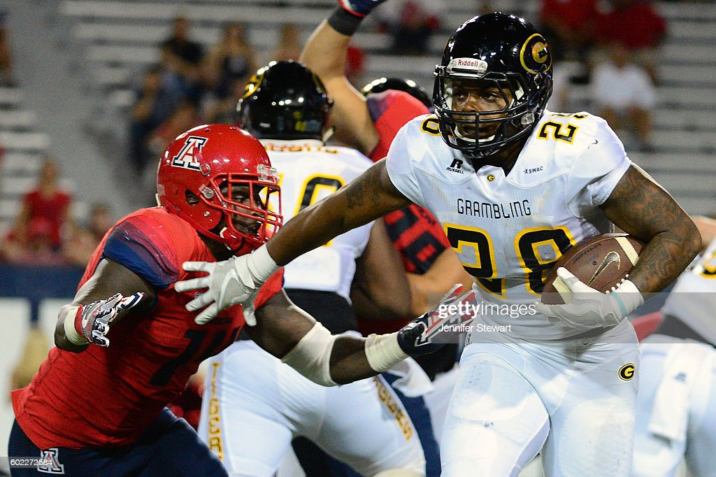 Grambling v Arizona : News Photo
