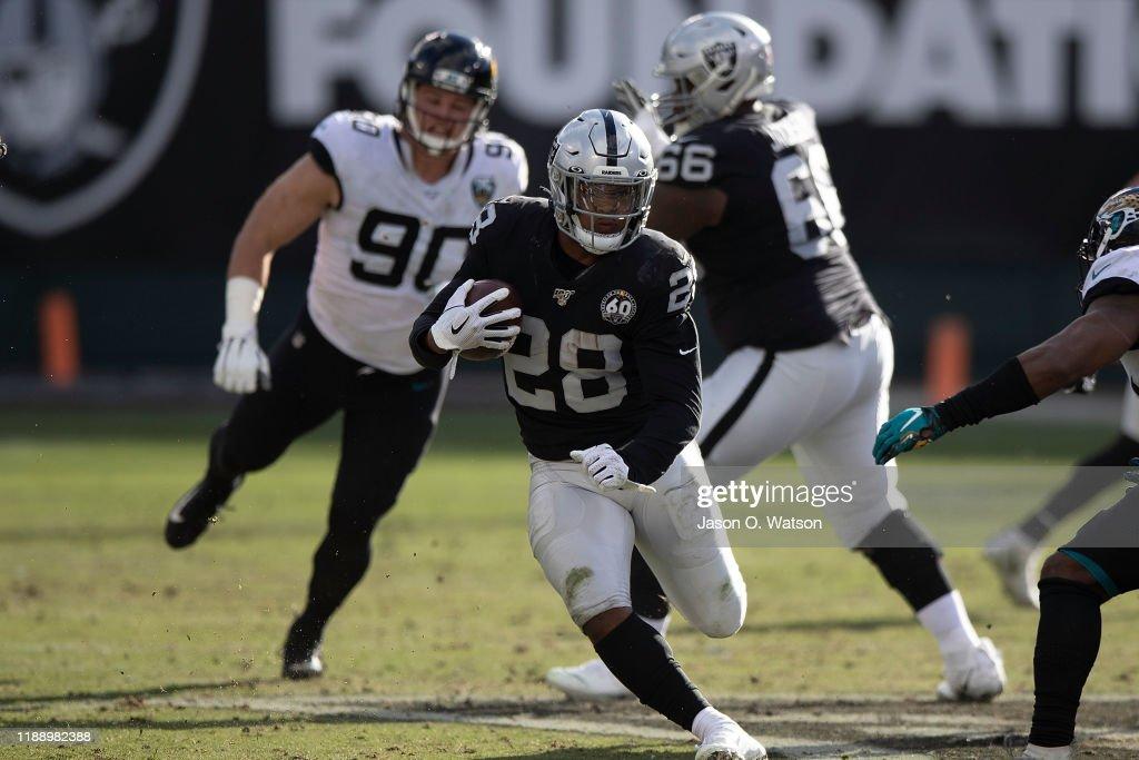 Jacksonville Jaguars v Oakland Raiders : News Photo
