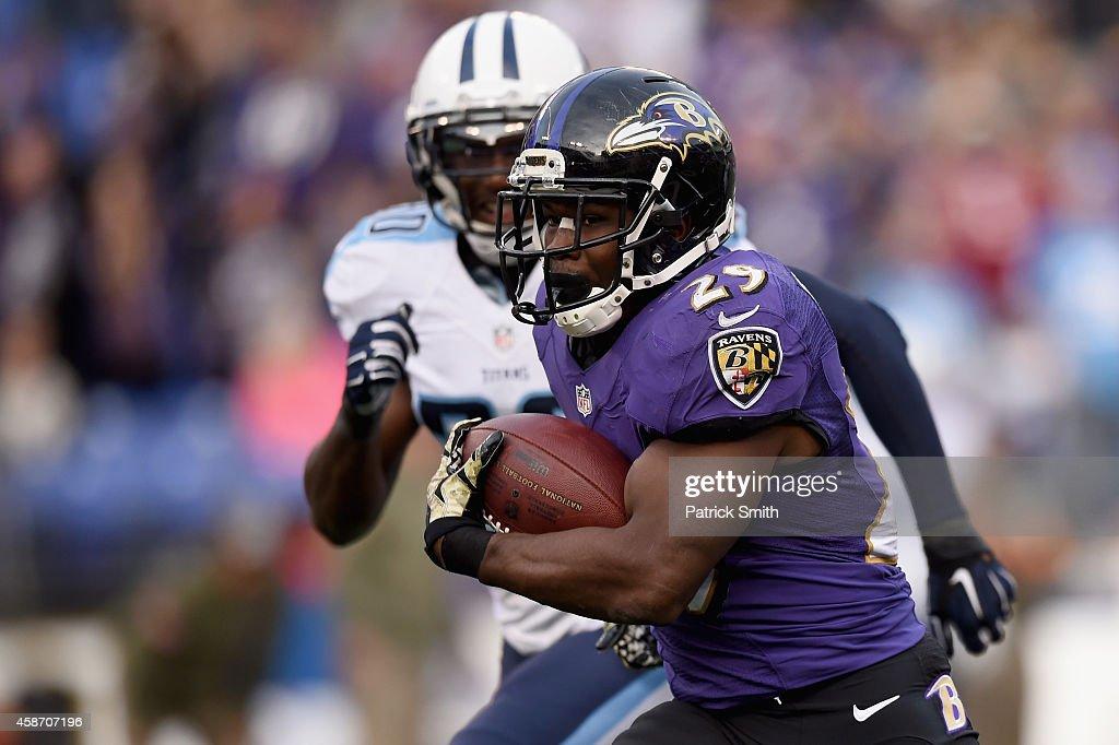 Tennessee Titans v Baltimore Ravens : News Photo