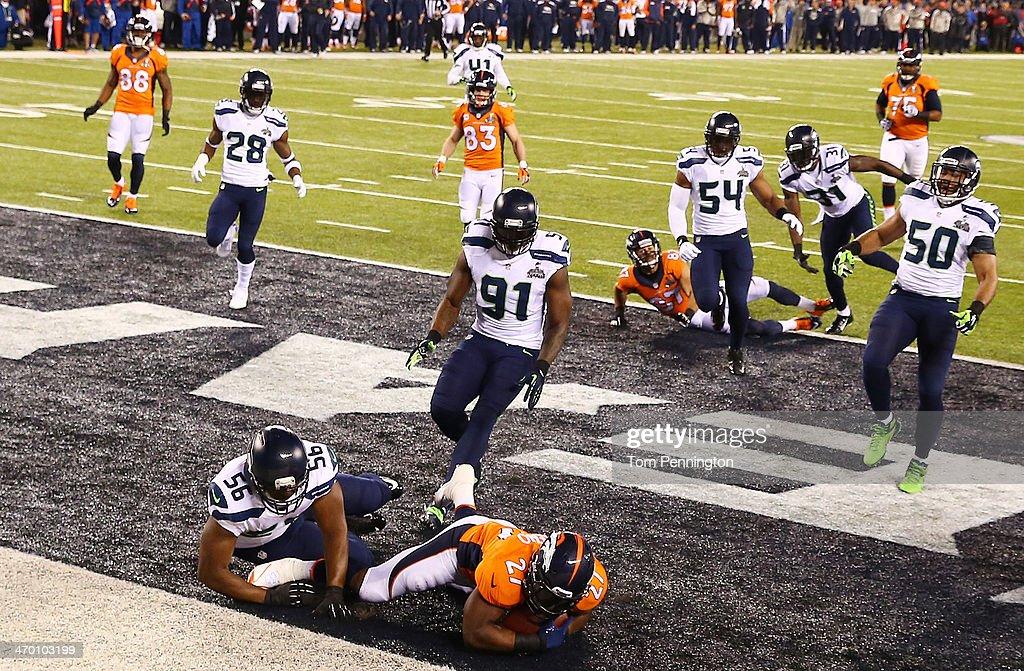 Super Bowl XLVIII - Seattle Seahawks v Denver Broncos : News Photo