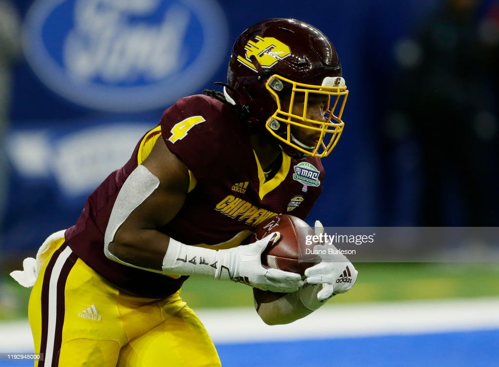 MAC Championship - Central Michigan v Miami Ohio : News Photo
