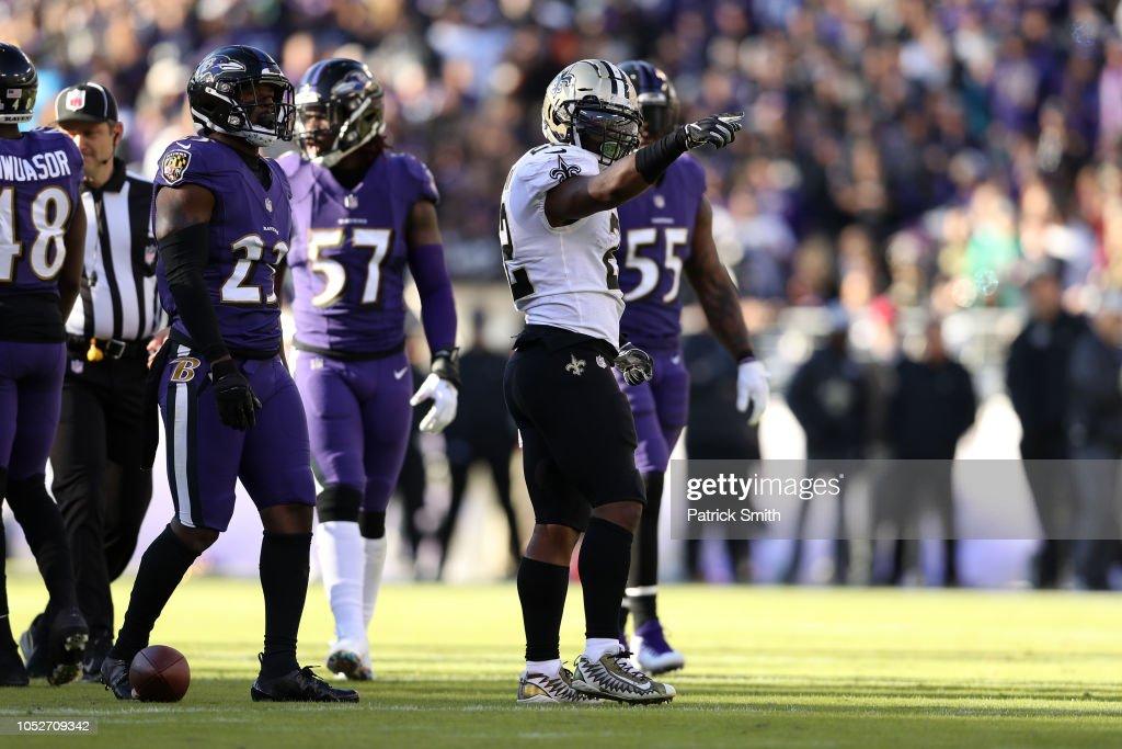 New Orleans Saints v Baltimore Ravens : News Photo