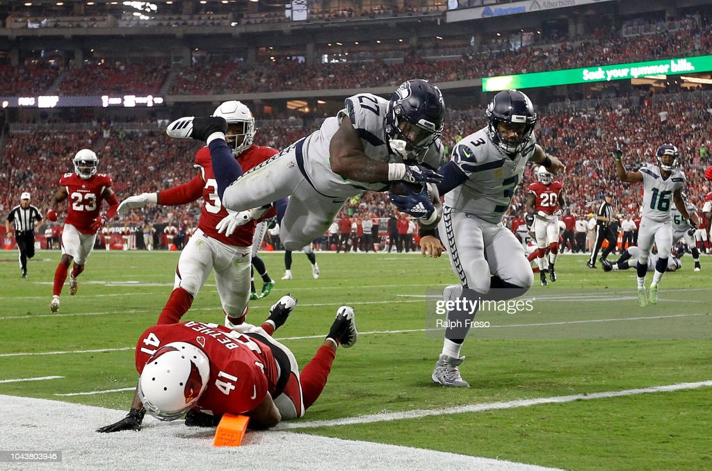 Seattle Seahawks v Arizona Cardinals : Nachrichtenfoto