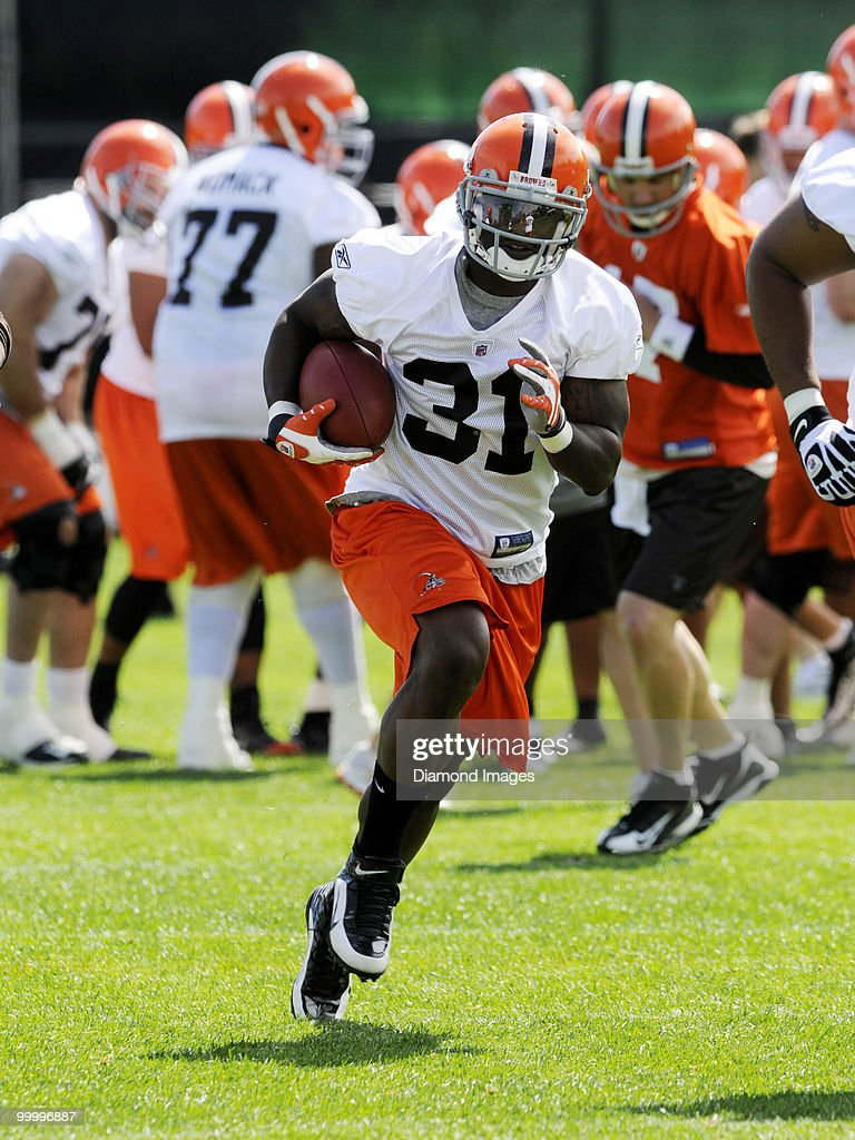 Cleveland Browns Organized Team Activity : Nyhetsfoto