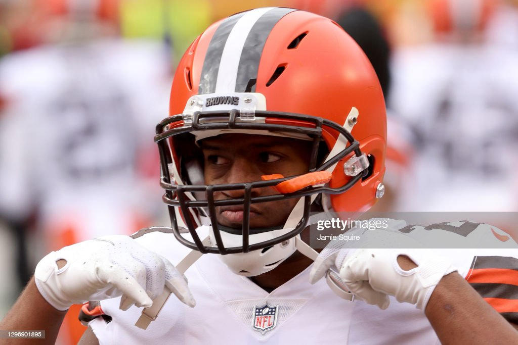 Divisional Round - Cleveland Browns v Kansas City Chiefs : ニュース写真