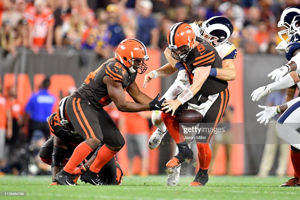Los Angeles Rams vCleveland Browns : News Photo