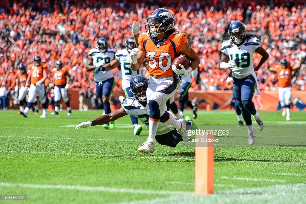 Seattle Seahawks v Denver Broncos : ニュース写真