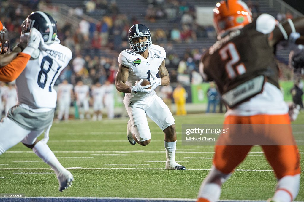 GoDaddy Bowl - Bowling Green v Georgia Southern : News Photo