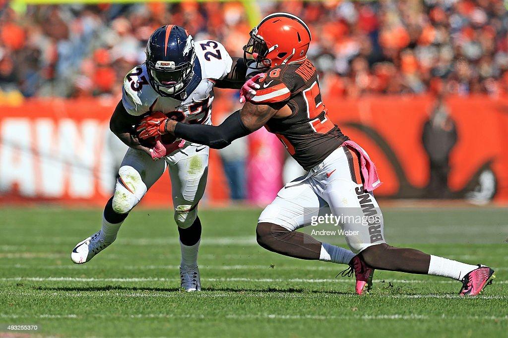 Denver Broncos v Cleveland Browns : Nachrichtenfoto