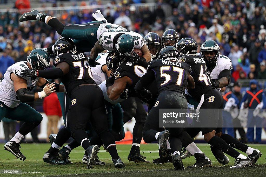 Philadelphia Eagles v Baltimore Ravens : News Photo