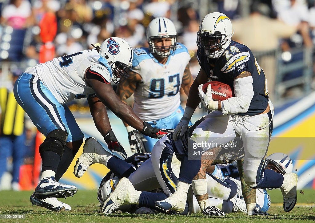 Running Back Ryan Mathews Of The San Diego Chargers