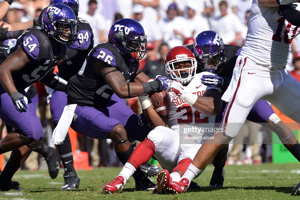 Oklahoma v TCU : News Photo