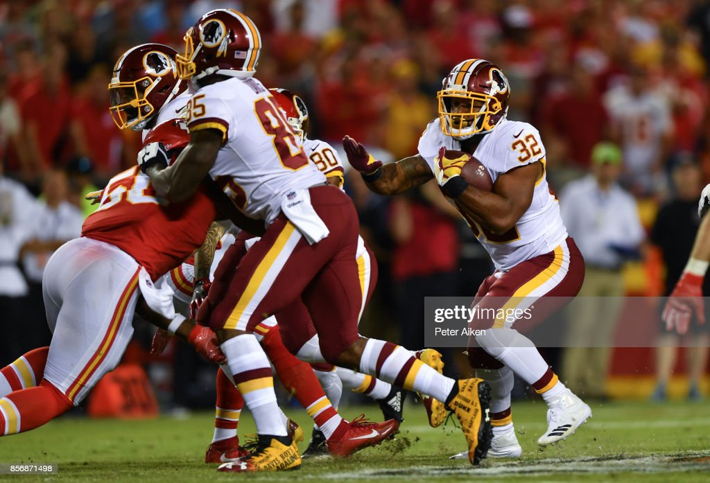 Washington Redskins vKansas City Chiefs