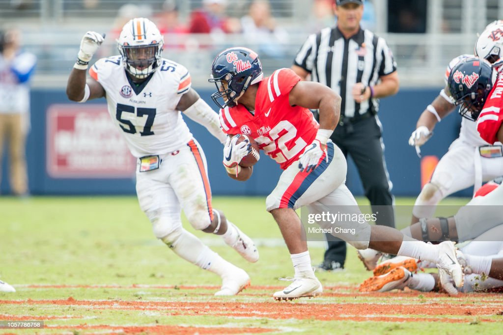Auburn v Mississippi : News Photo